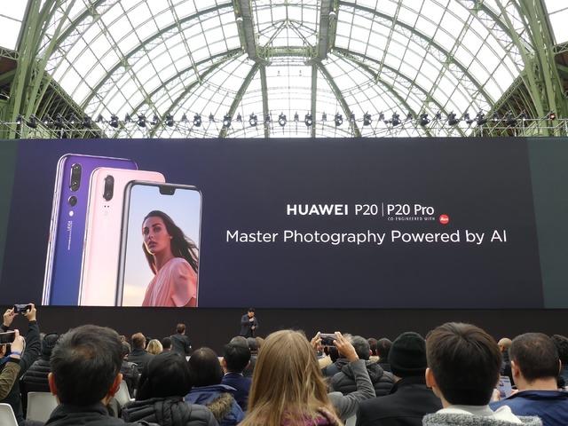 P20/P20 Proは、AIによる革新的なカメラ機能が特徴です