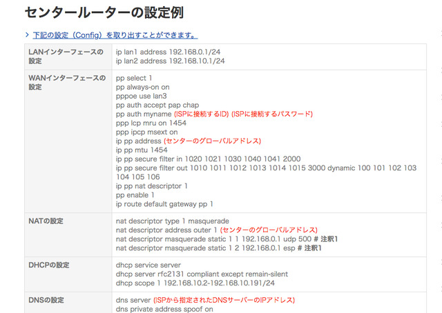 豊富な日本語ドキュメントと設定例を用意している