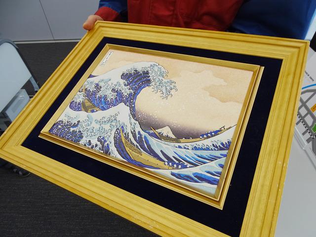 はじめは商品として販売した立体的なデジタル絵画「カシオアート」が2.5Dプリンタのスタート地点となった