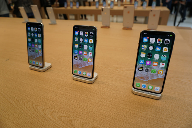 iPhoneも現行機種の全てのモデルを体験可能