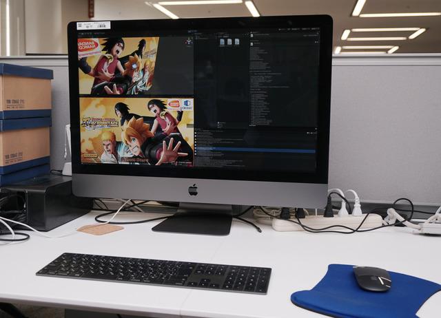 バンダイナムコスタジオのモバイルゲーム制作環境に新たに投入されたiMac Pro。使い手であるプログラマに本機を選んだ理由を訊ねた