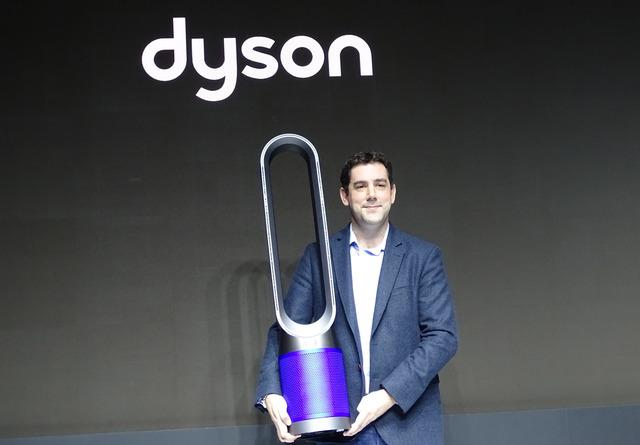 羽根のない扇風機の最新モデル「Dyson Pure Cool」を発表したダイソン