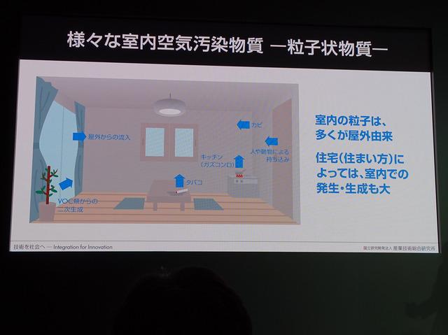 機密性の高い現代の住宅の中で漂いがちな汚染物質を効果的に除去するためのスマート家電をめざして開発が進められてきた