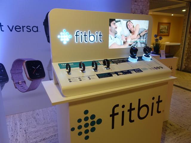 fitbitの展示