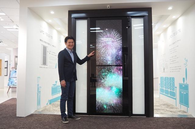 AIを搭載した未来ドア「UPDATE GATE」。YKK APショールーム新宿 特設ギャラリーにて4月下旬から一般展示・体験がスタートした