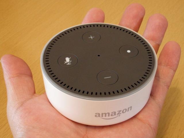 Amazonのスマートスピーカー「Echo Dot」
