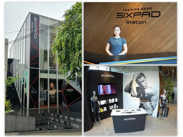 7月にグランドオープンするSIXPAD STATION 代官山(東京都目黒区青葉台1-4-10代官山LOGビル1・2階)