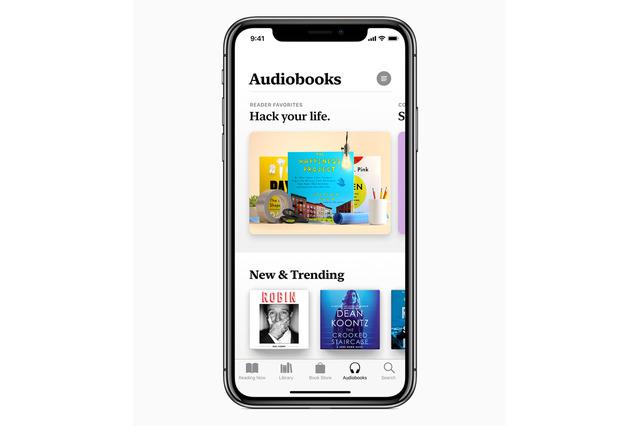 秋にはiBooksがApple Booksに生まれ変わる。オーディオブックも充実