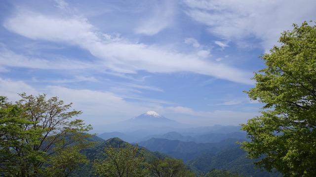 頂上での1枚。美しい富士山を臨場感たっぷりに撮影することができた