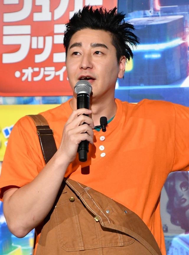 チョコレートプラネット・長田庄平【写真:竹内みちまろ】