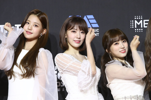 IZ*ONE (c)Getty Images