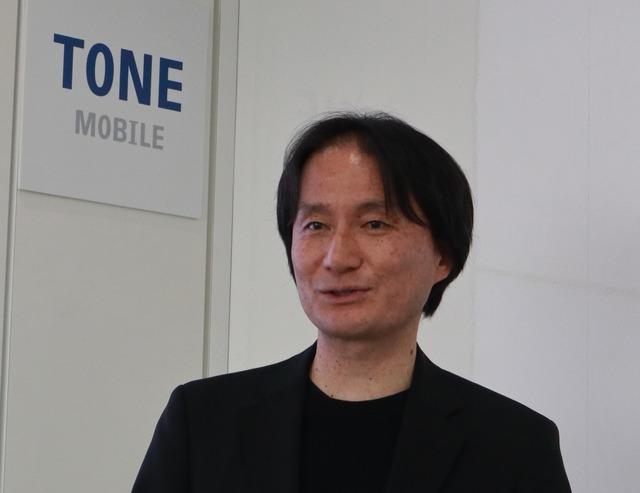 TONEモバイル代表取締役社長 石田宏樹氏
