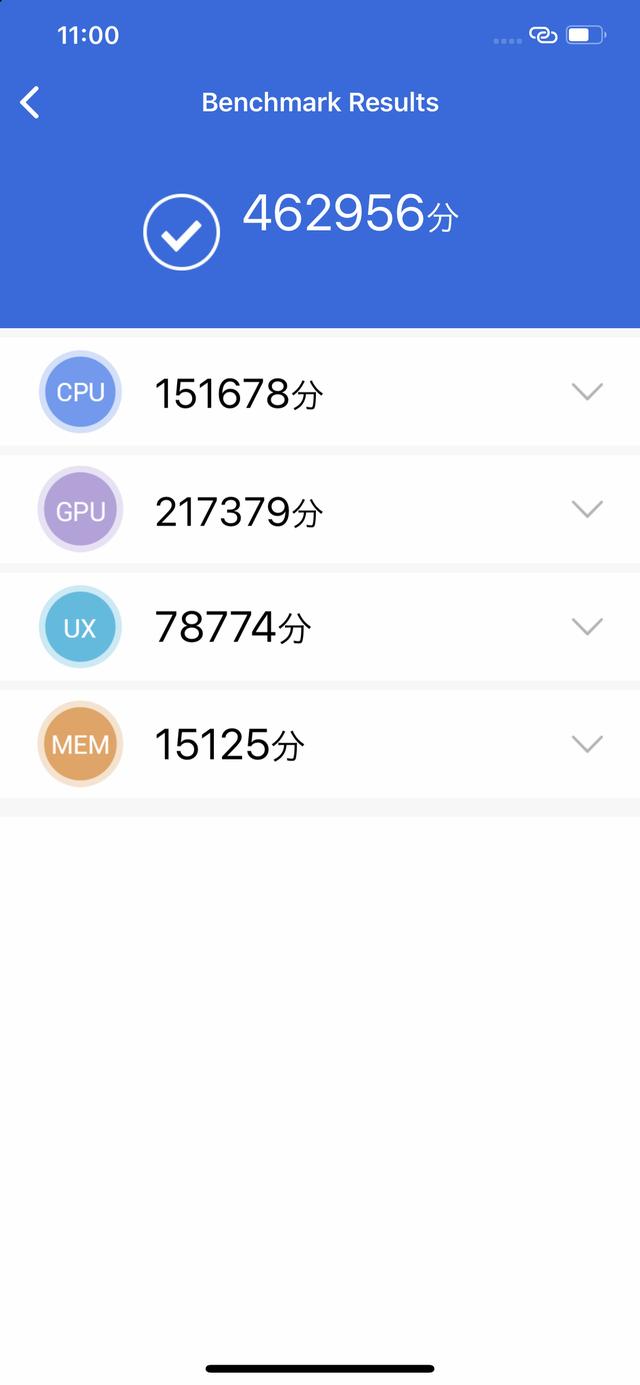 iPhone11 Pro MaxのAntutuベンチマーク