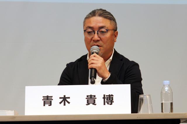 radiko代表取締役社長の青木貴博氏