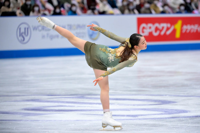紀平梨花(Photo by Koki Nagahama - International Skating Union/International Skating Union via Getty Images)