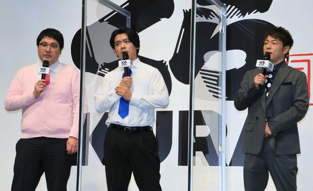 陣内智則、マヂカルラブリー【撮影:小宮山あきの】
