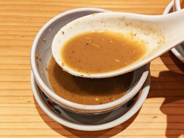 鳥賊(スルメイカ)のスープ