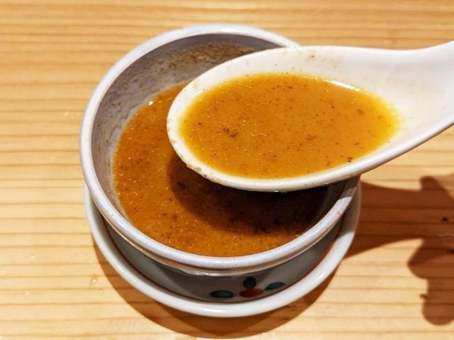 海老(あまえび)のスープ