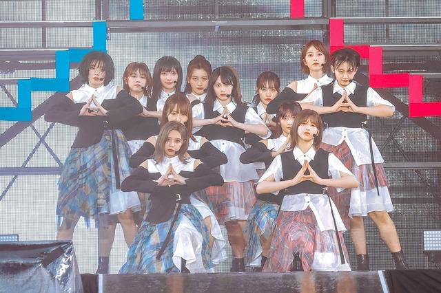 櫻坂46『W-KEYAKI FES.2021 DAY-1』 ライブ写真(撮影:上山陽介)