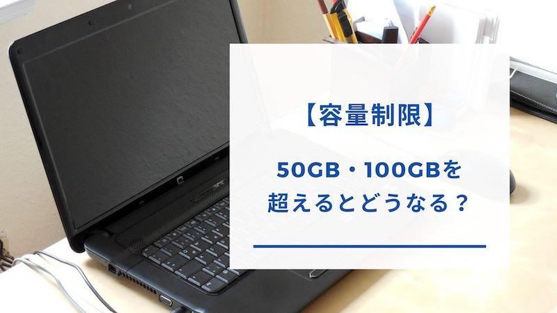 Ex Wi-Fi CLOUDの容量制限