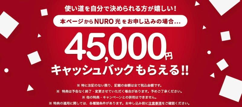 NURO光 公式サイト