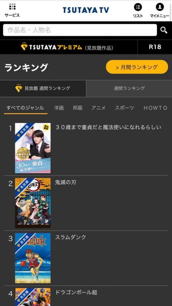 【TSUTAYA TVを公式サイトから解約する手順1】公式サイトへログイン