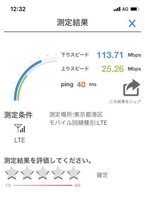 【y.u mobileと大手キャリアの通信速度比較】大手キャリアの通信速度