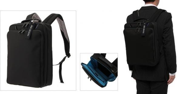 3c43240ac088 <ANA DESIGN> トートバッグ折り畳み傘やペットボトルが入るサイドポケットを装備し、マチが広がるエクスパンド機能やキャリーへのセットアップ機能を搭載○  サイズ: ...